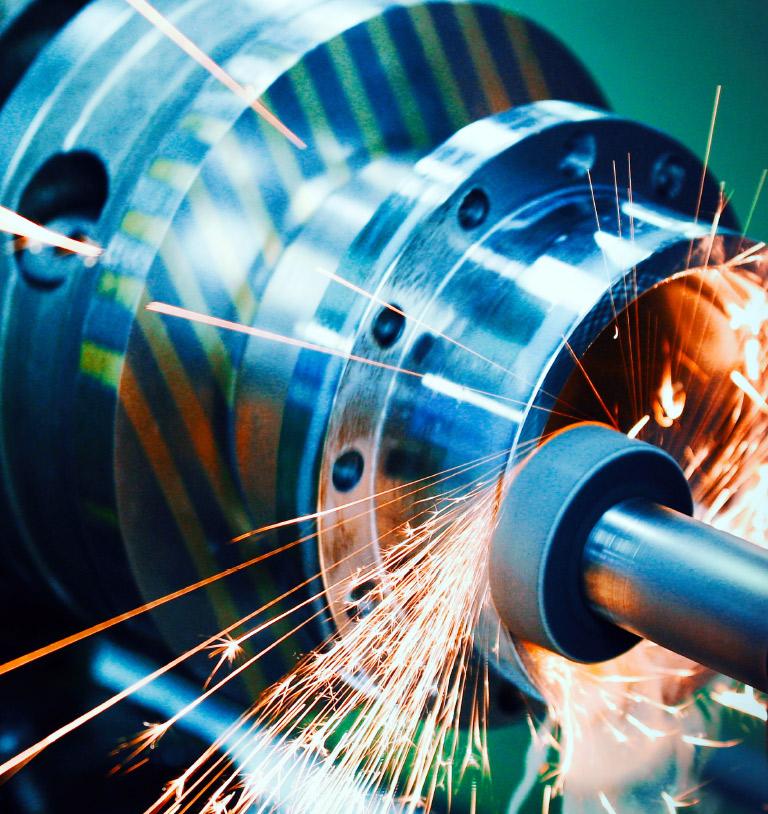 CNC-Fräsmaschine.